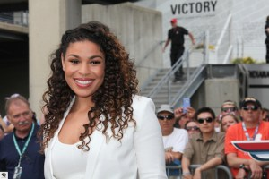 Jordin Sparks on the red carpet.