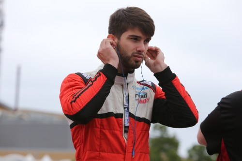After four years in Europe, Felix Serralles made a successful return to the Mazda Road To Indy in 2015.  (Photo courtesy of Indianapolis Motor Speedway, LLC Photography)