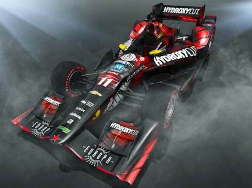 Sebastien Bourdais  and Hydroxycut are both returning to KVSH racing in 2016  (photo courtesy of KVSH Racing)