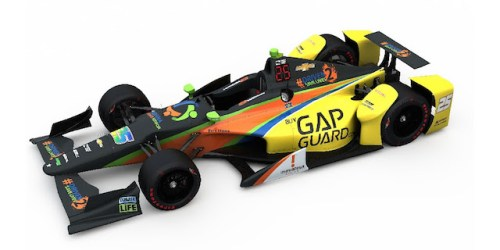 The No. 25 KV Racing Technology/Team Pelfrey entry that Stefan Wilson will pilot in an attempt to make the 100th running of the Indianapolis 500 (Photo courtesy of Stefan Wilson)