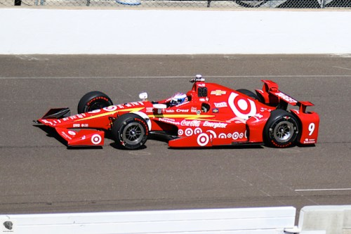 Scott Dixon on Carb Day