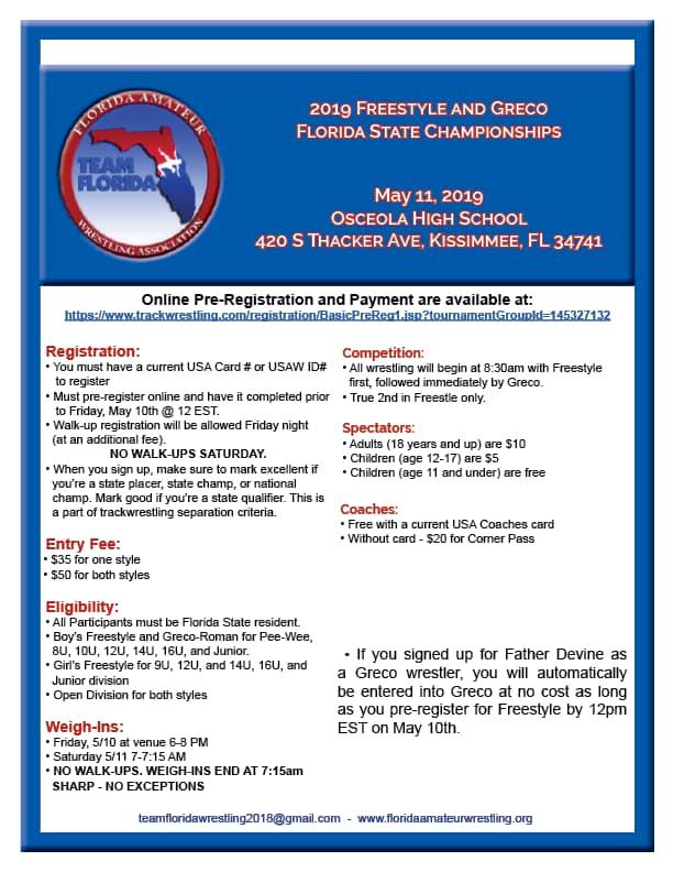 Pre Register Event Flyer