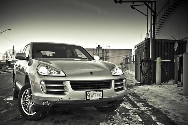 2009 Porsche Cayenne V6 with PDK transmission