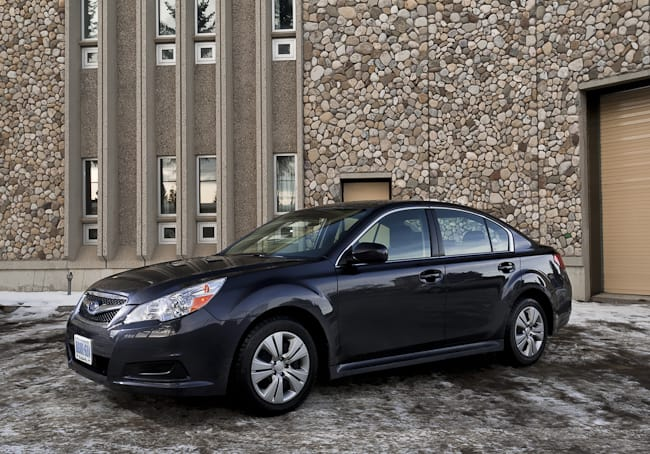 2011 Subaru Legacy 2.5i Review