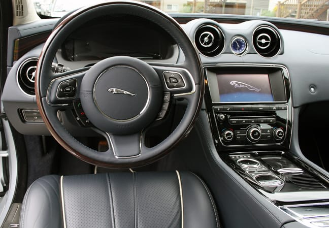 2011 Jaguar XJL Supercharged Review interior