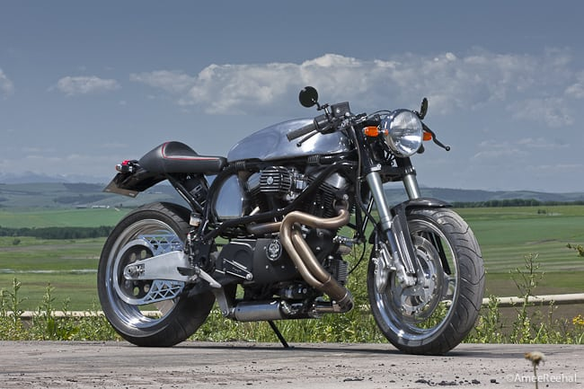 Saturday Morning Special: A 2001 Buell X1 Lightning Café Racer Feature