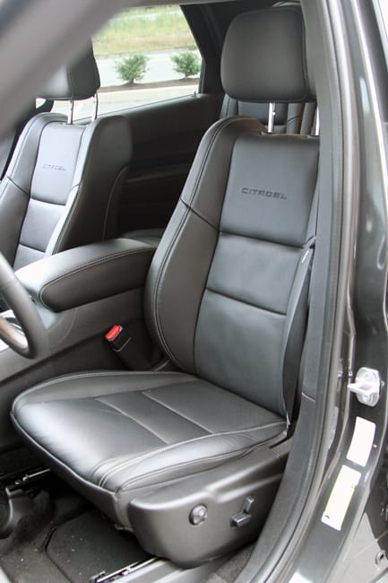 2011 Dodge Durango Citadel Review seats