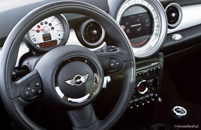 2011 MINI Cooper Clubman Review cabin