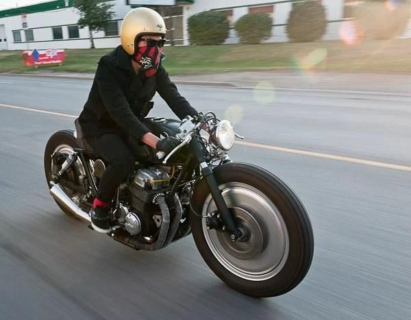 Punk'd! A Badass 1977 Honda CB750F2 Brat Bike