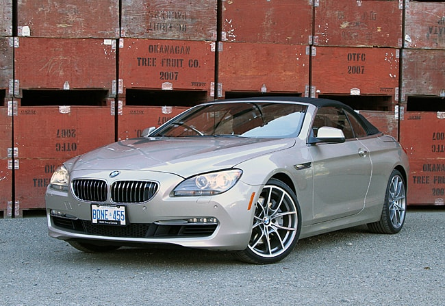 2012 BMW 650i Cabriolet Review