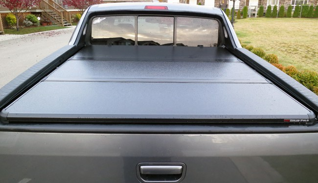 Extang Solid Fold Tonneau Cover Review cover closed