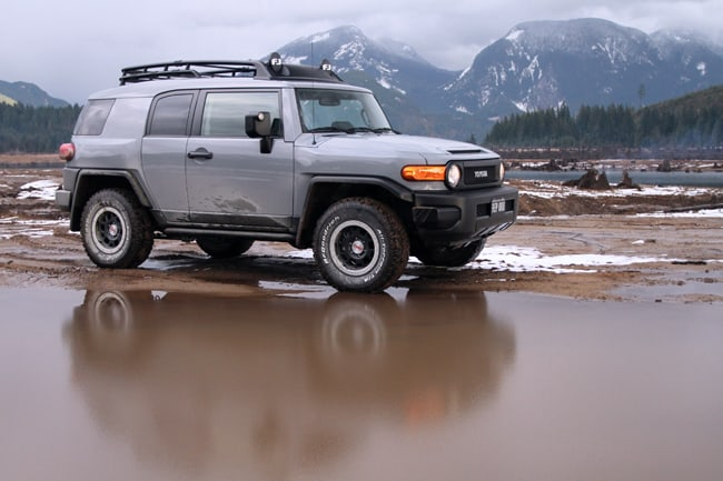 2013 Toyota FJ Cruiser Trail Teams Special Edition