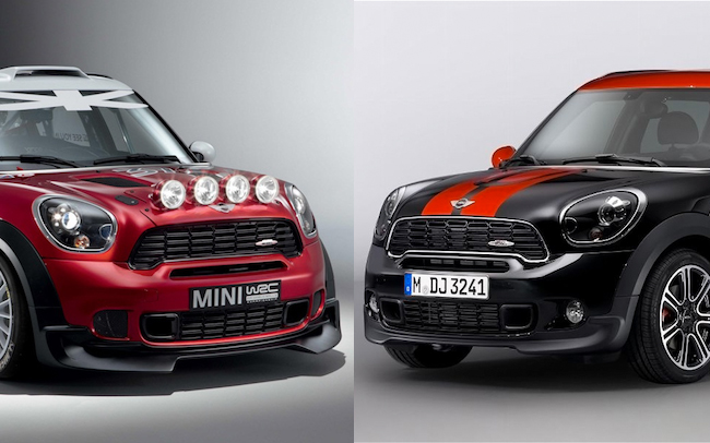 2013 MINI John Cooper Works Countryman All4 vs. 2013 MINI WRC