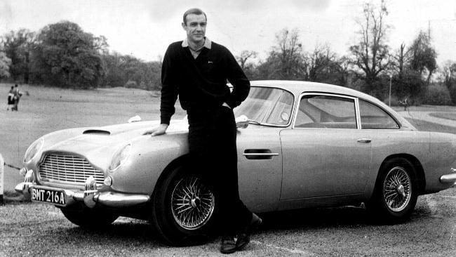 best bond cars Aston Martin DB5