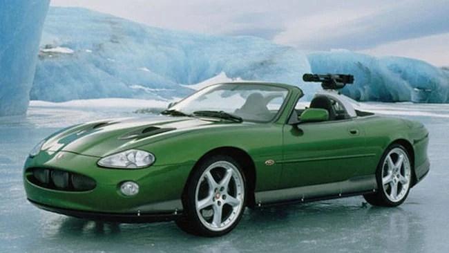 best bond cars Jaguar XKR