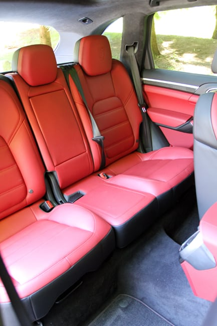 2014 Porsche Cayenne Turbo S Review-interior