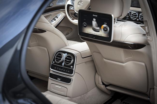 2014 Mercedes-Benz S-Class Review-rear-cabin