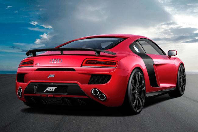 Audi R8 V10 by ABT-rear
