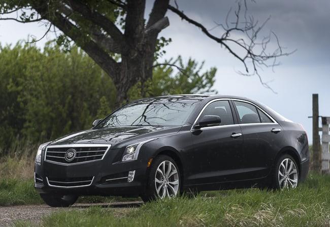 In Pictures: 2013 Cadillac ATS Luxury Sedan