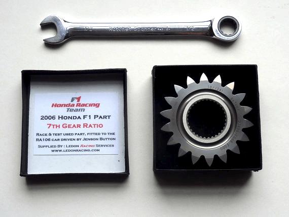 Honda F1 Gear Paperweight