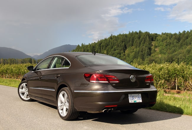 2013 Volkswagen CC Review rear