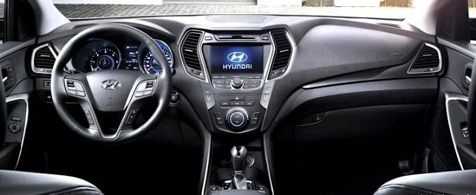 2013 Hyundai Santa Fe XL Luxury AWD Review-interior