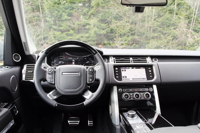2014 Range Rover Supercharged Review interior