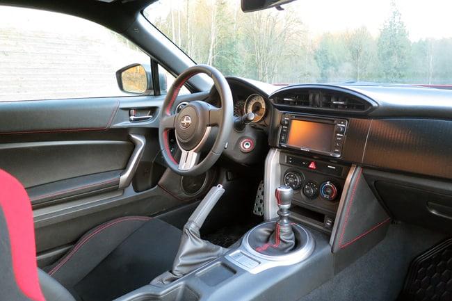 2014 Scion FR-S Review-Interior