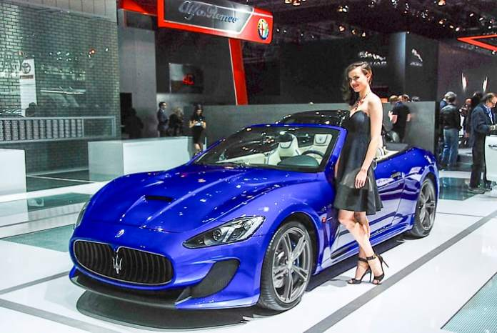 Maserati GranTurismo MC Convertible Centennial