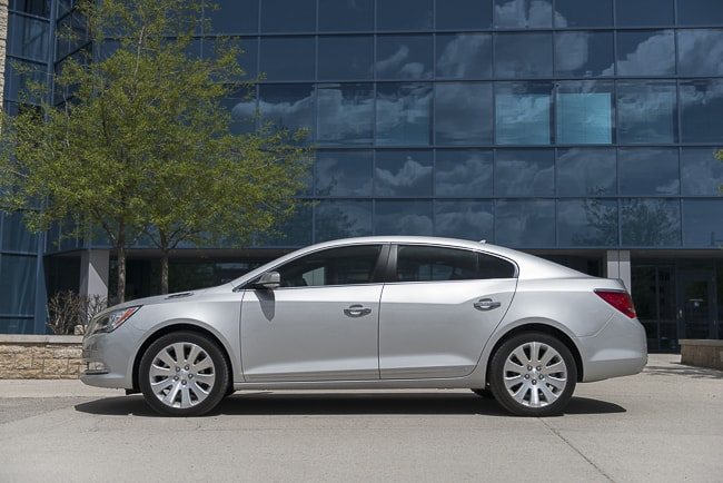 2014 Buick LaCrosse Review side view