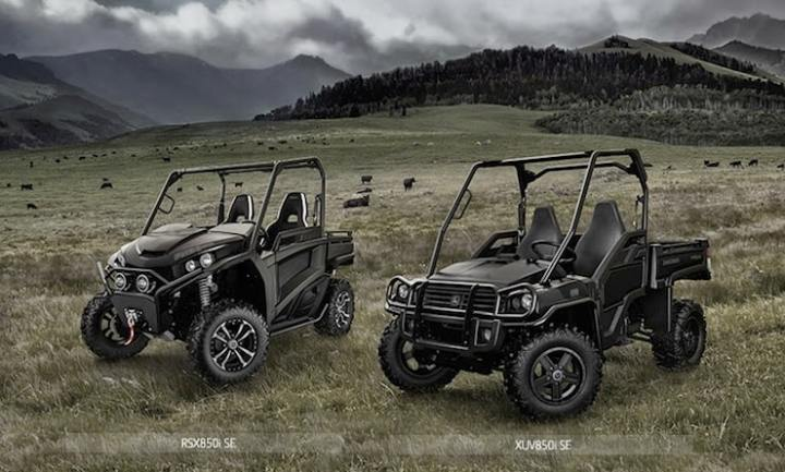 John Deere Midnight Black Special Edition Gator