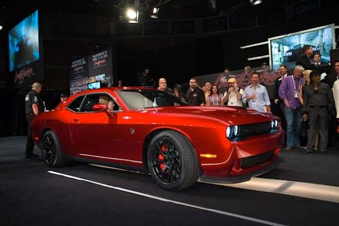 barrett jackson most expensive car sold in 2014