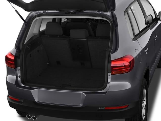 2015 Volkswagen Tiguan Review trunk