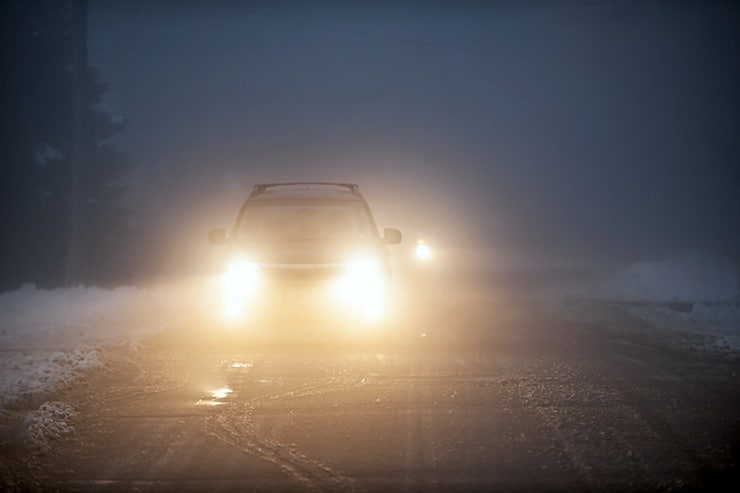 Winter Driving and Importance of Proper Headlight Bulbs
