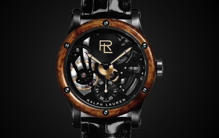 Ralph Lauren Skeleton Automotive Watch