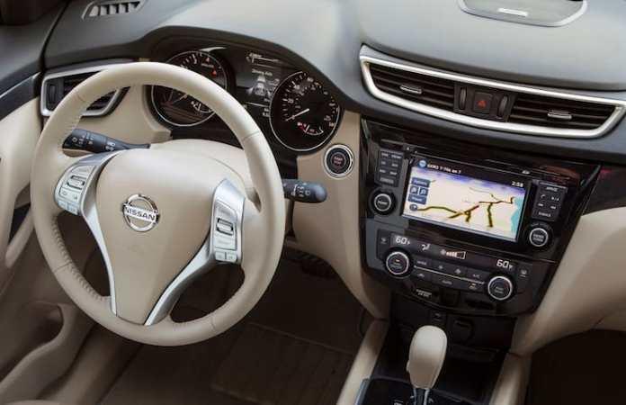 2015 Nissan Rogue SL AWD Review interior