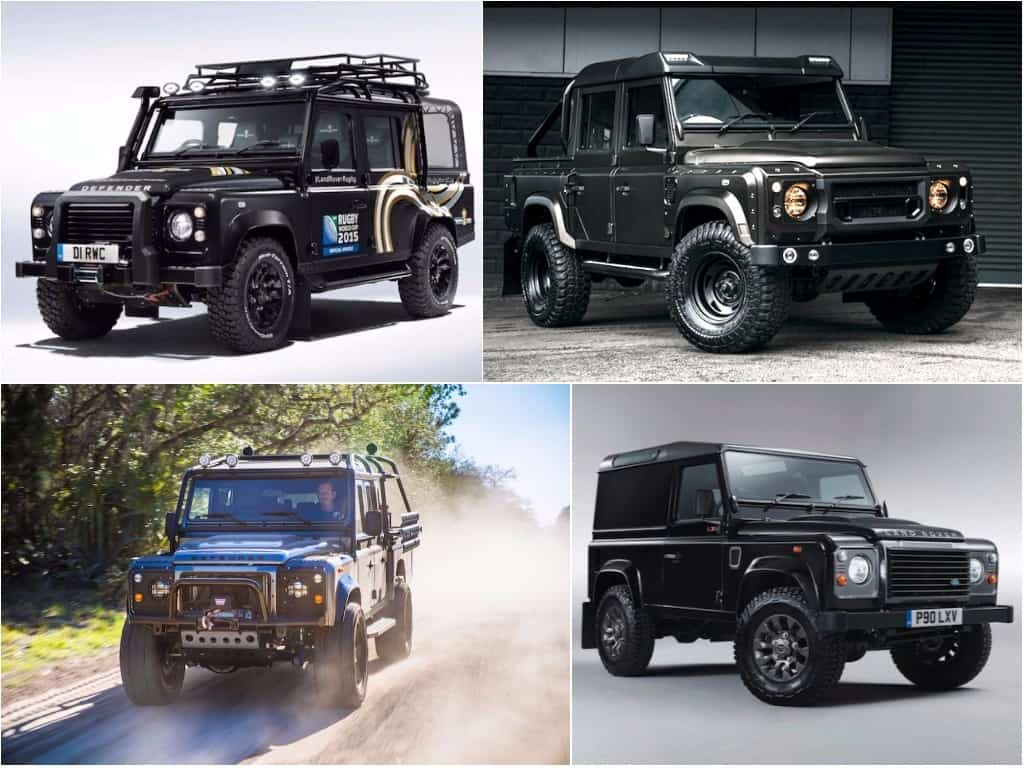 best land rover defenders