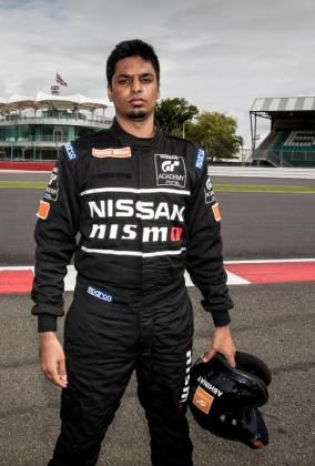 Abhinay Bikkani of India, a graduate from the 2014 Nissan PlayStation GT Academy competition, will compete in the inaugural season of the Nissan Micra Cup.