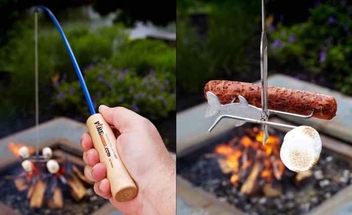 Campfire Fishing Rod