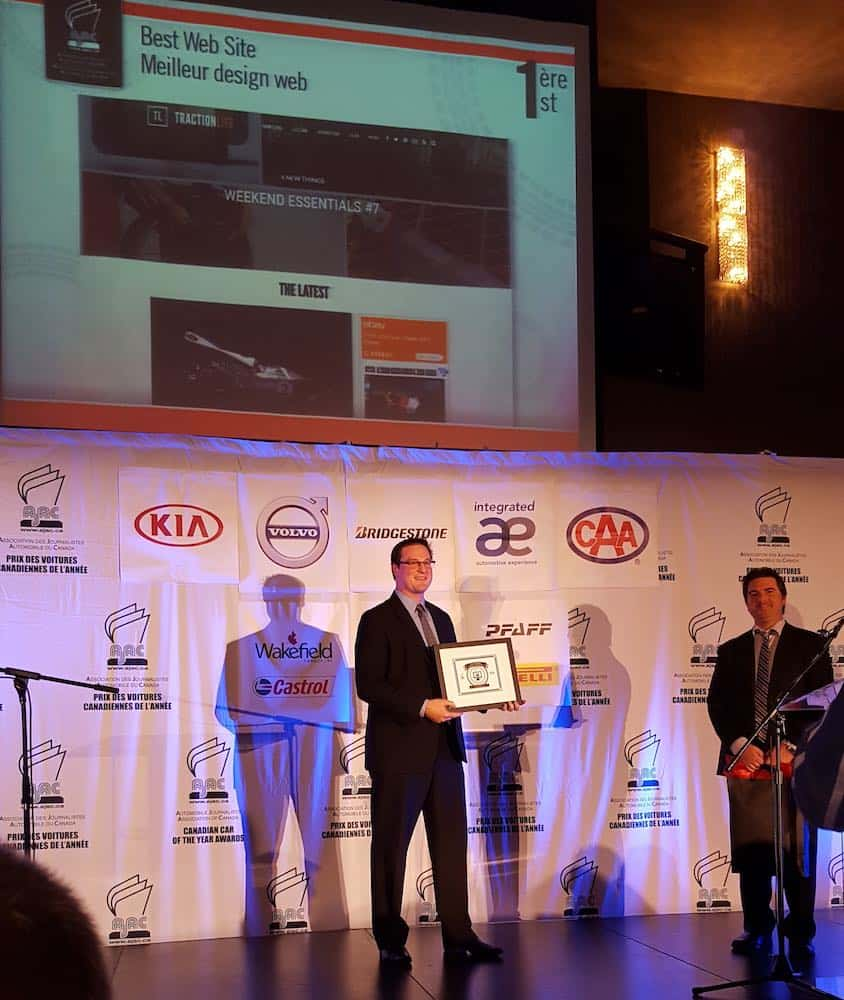 tractionlife 2016 kia best design award John Adzija