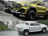 Mercedes-Benz Concept X-Class: 2 Future Luxury Mid-Size Pickups for 2017