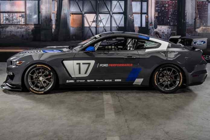 Global Mustang GT4 Race Car