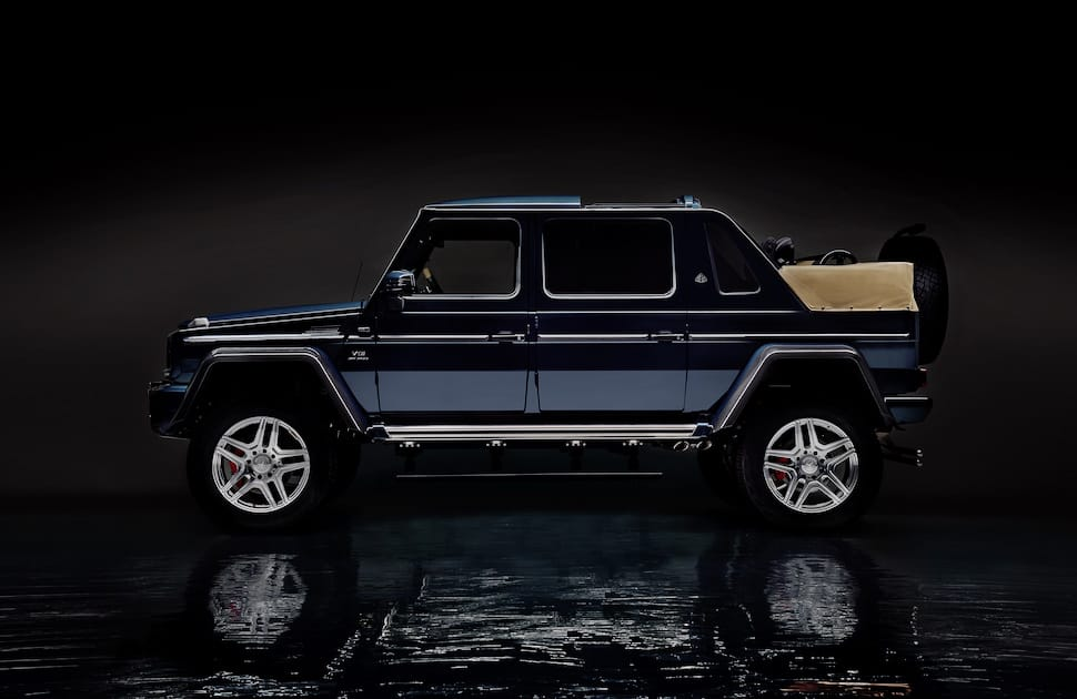 luxury off roader the 630 hp mercedes maybach g 650