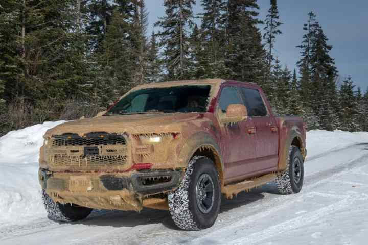 Snow Monster: 2017 Ford F-150 Raptor Conquers Winter