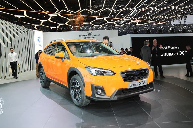 2018 subaru manual transmission. beautiful 2018 new 2ndgen 2018 subaru crosstrek debuts at 2017 geneva motor show with subaru manual transmission