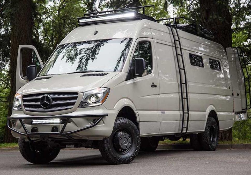Valhalla 4x4 Camper Not Your Typical Sprinter Van
