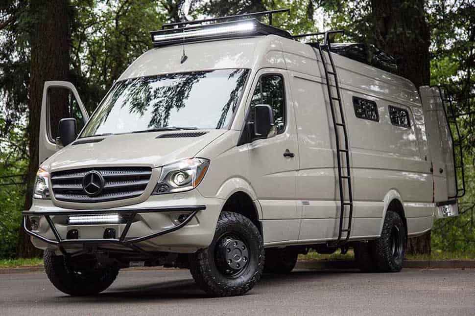 Valhalla 4x4 camper not your typical sprinter van for Mercedes benz sprinter camper van