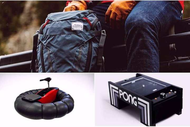 Weekend Essentials #18: New Matador Backpack, GoBoat Portable Boat, and PONG Coffee Table