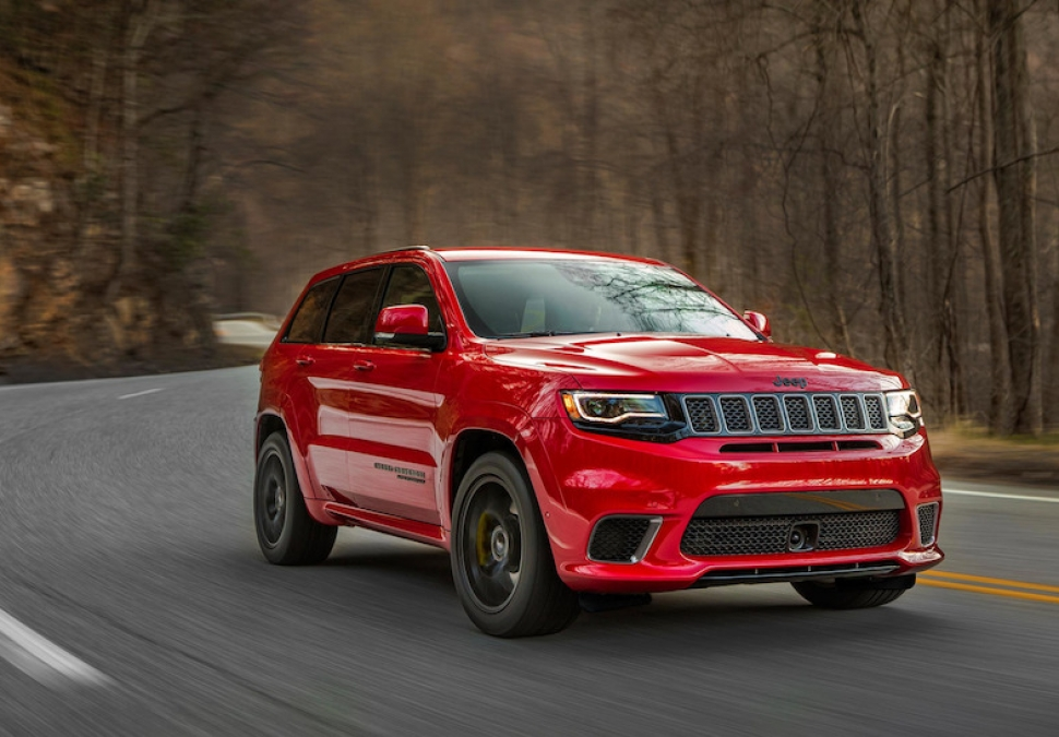 All-New 707-hp 2018 Jeep Grand Cherokee Trackhawk Unveiled: World's Fastest, Most Powerful OEM SUV