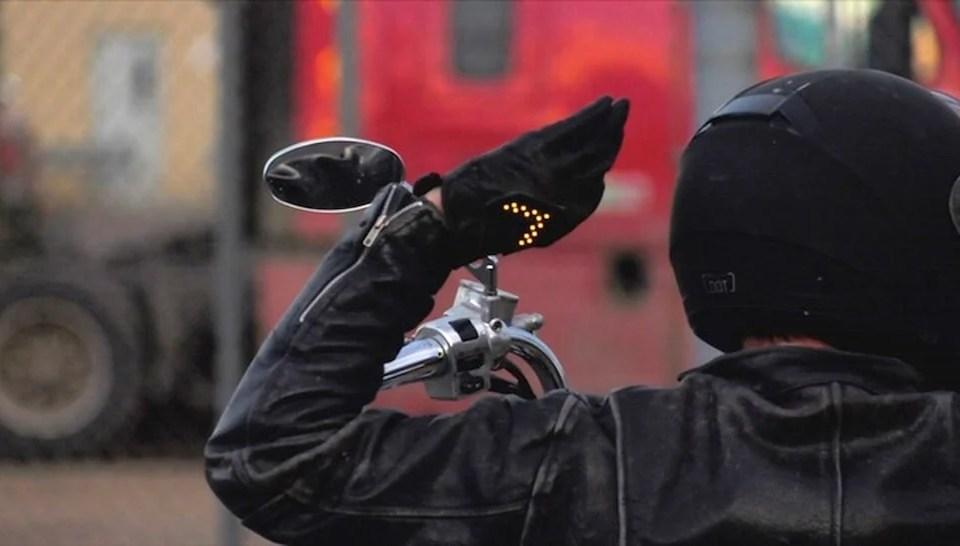 SignalWear Smart Motorcycle Gloves